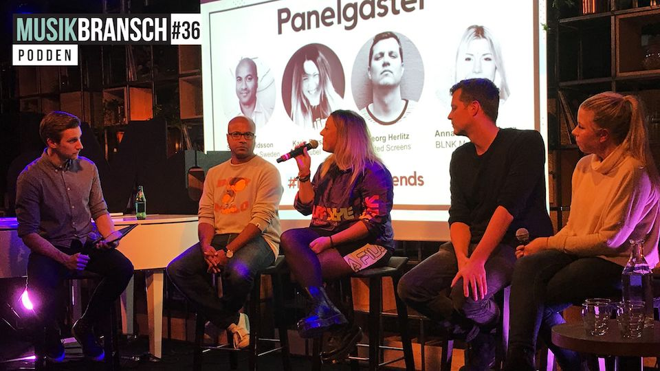 36. Panelsamtal - Music Industry Trends (live)