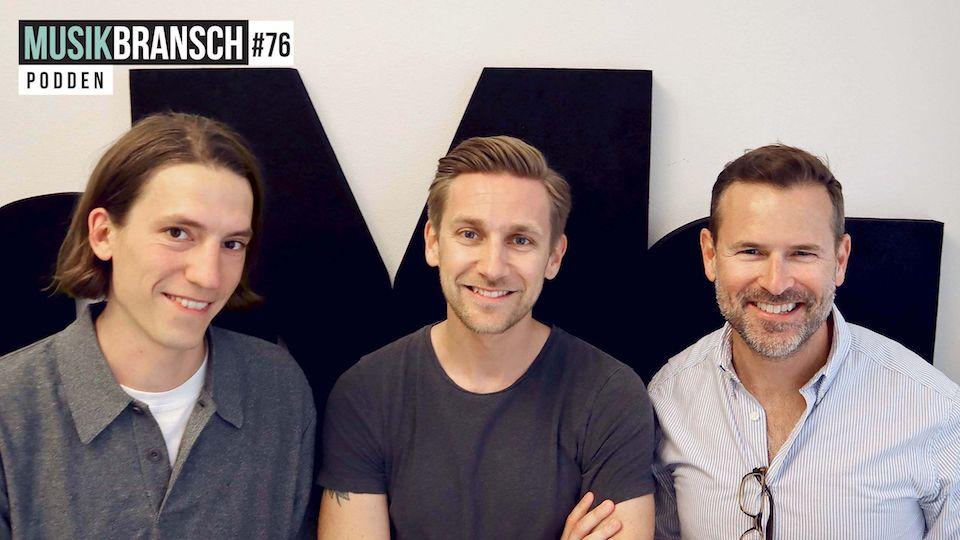 76. Sven Carlsson & Jonas Leijonhufvud, DI - Spotify inifrån och musikbranschen utifrån