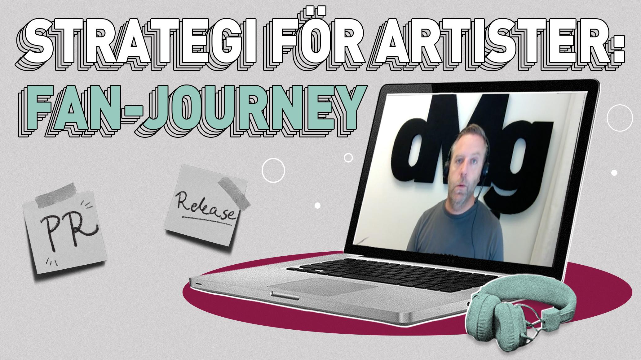 Kursvideo: Nå en artists målgrupp med kursledaren Stefan Palmquist