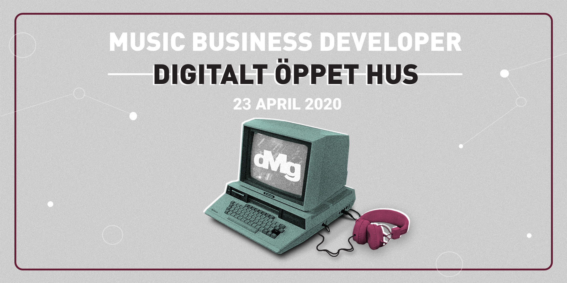Digitalt öppet hus: Music Business Developer 2020