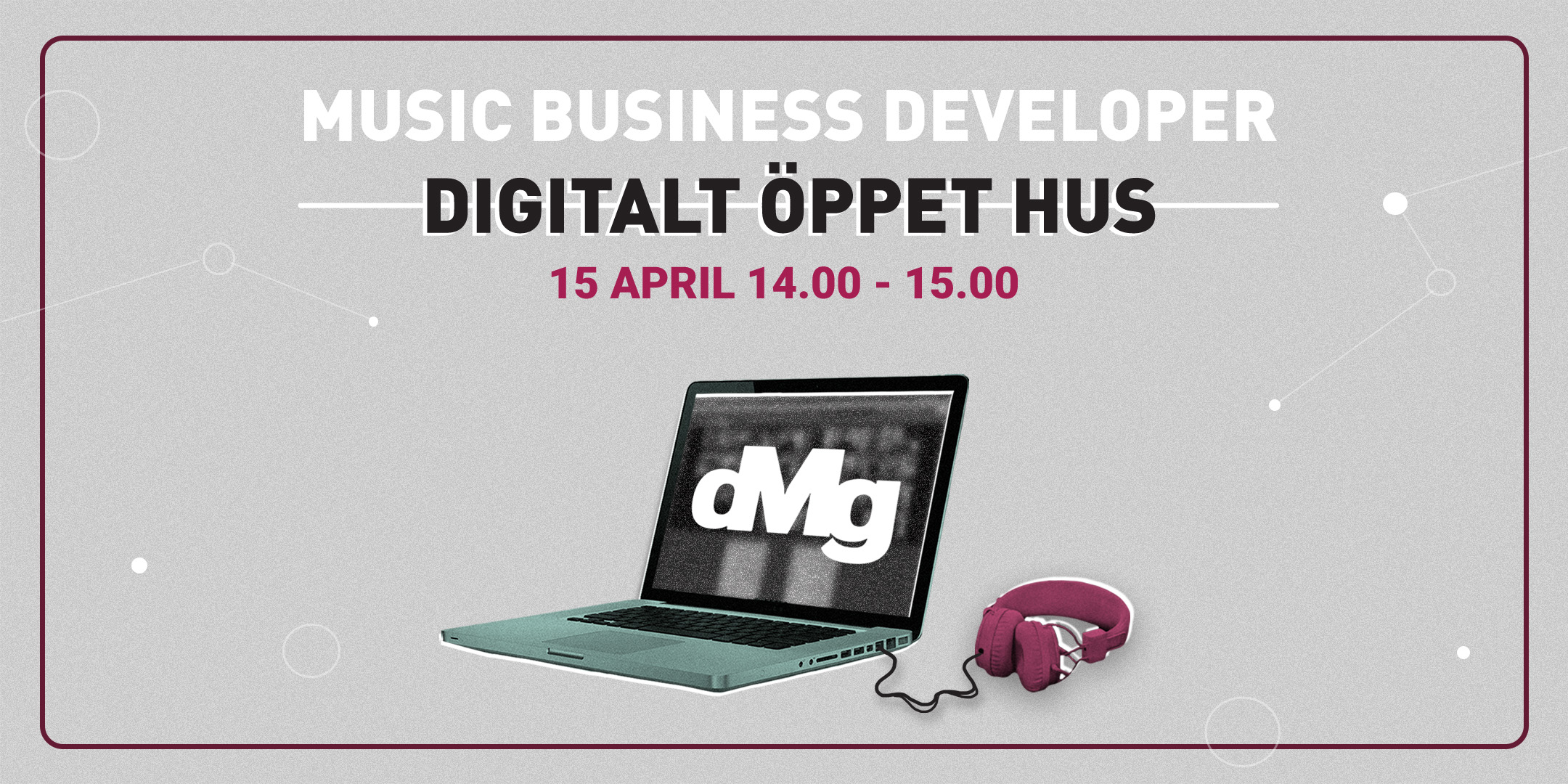 Digitalt öppet hus: Music Business Developer 2021