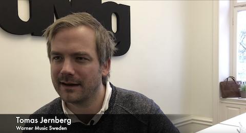 Intervju - Tomas Jernberg, Warner Music