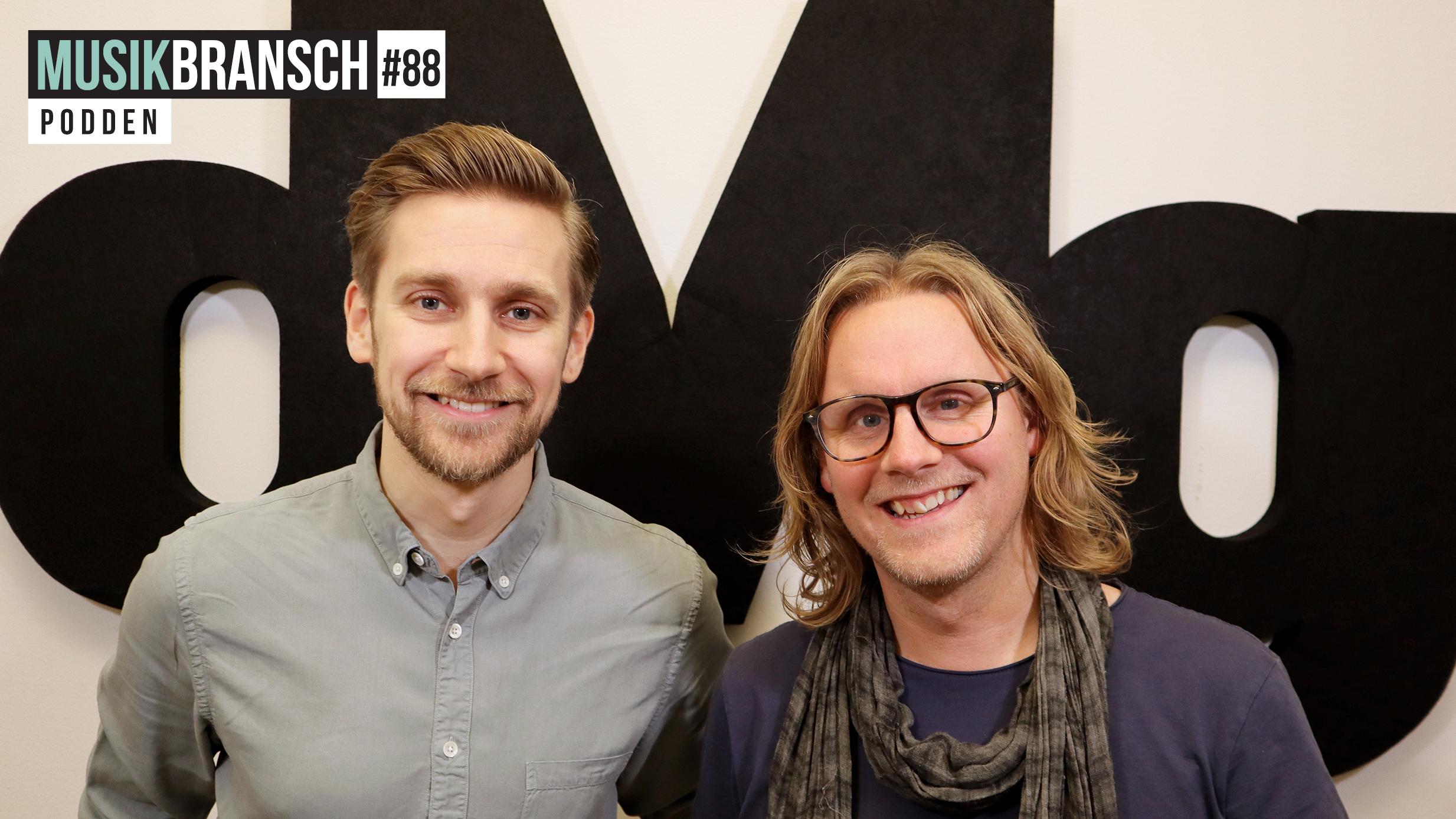 88. Magnus Broni, SVT - Storytelling av svensk musikhistoria