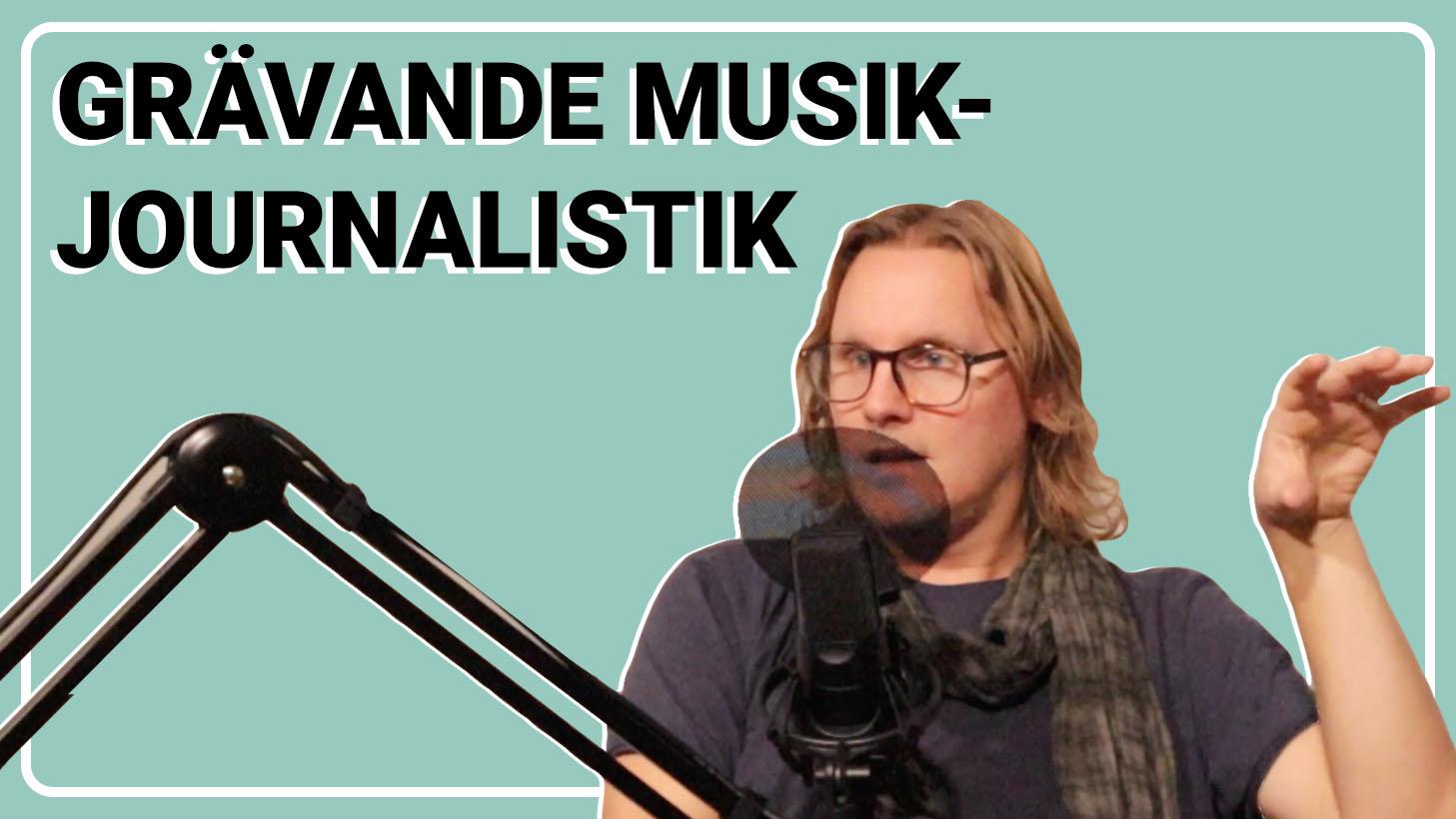 Research & intervjuer inom musikbranschen - Magnus Broni