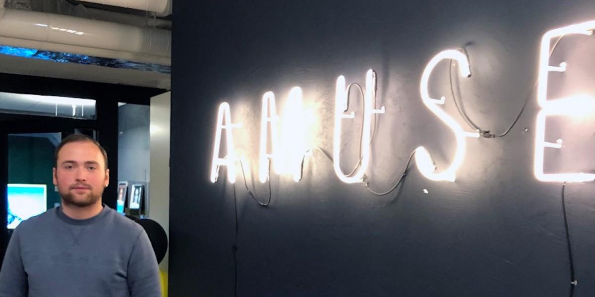 LIA: Skolprojektet väckte intresse för digitala skivbolaget Amuse