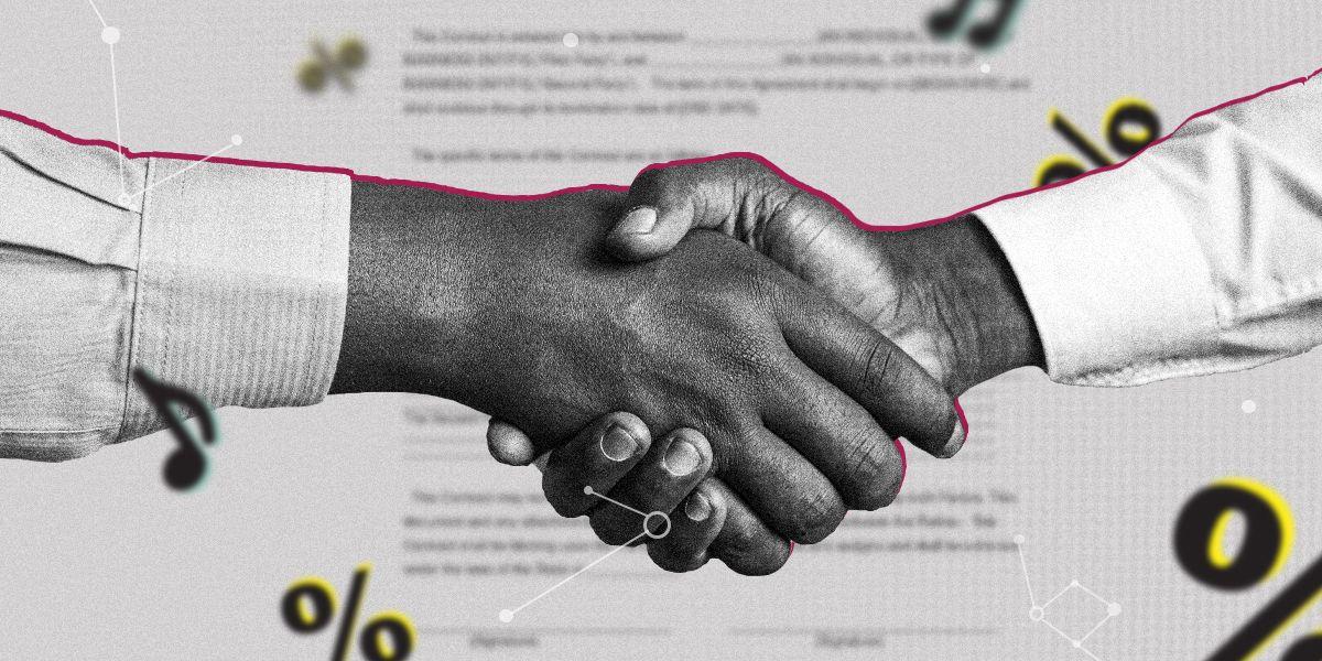De vanligaste avtalen inom musikbranschen